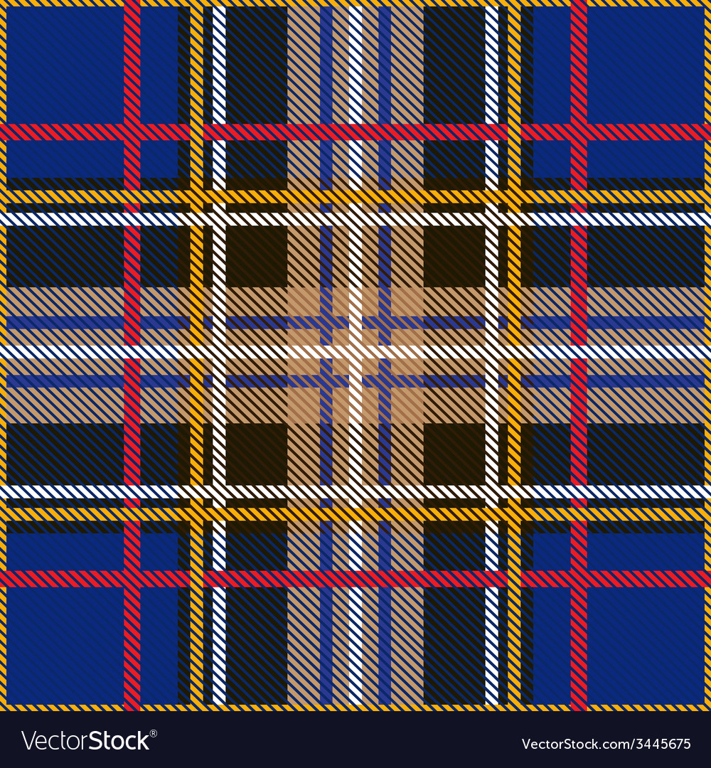 Seamless tartan pattern vector | Price: 1 Credit (USD $1)