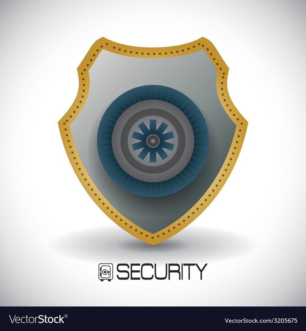 Secure box design vector   Price: 1 Credit (USD $1)