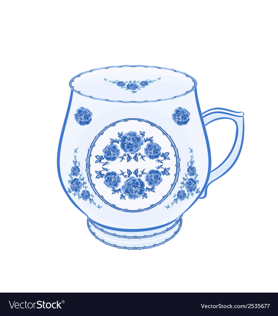 Mug-of-faience vector | Price: 1 Credit (USD $1)