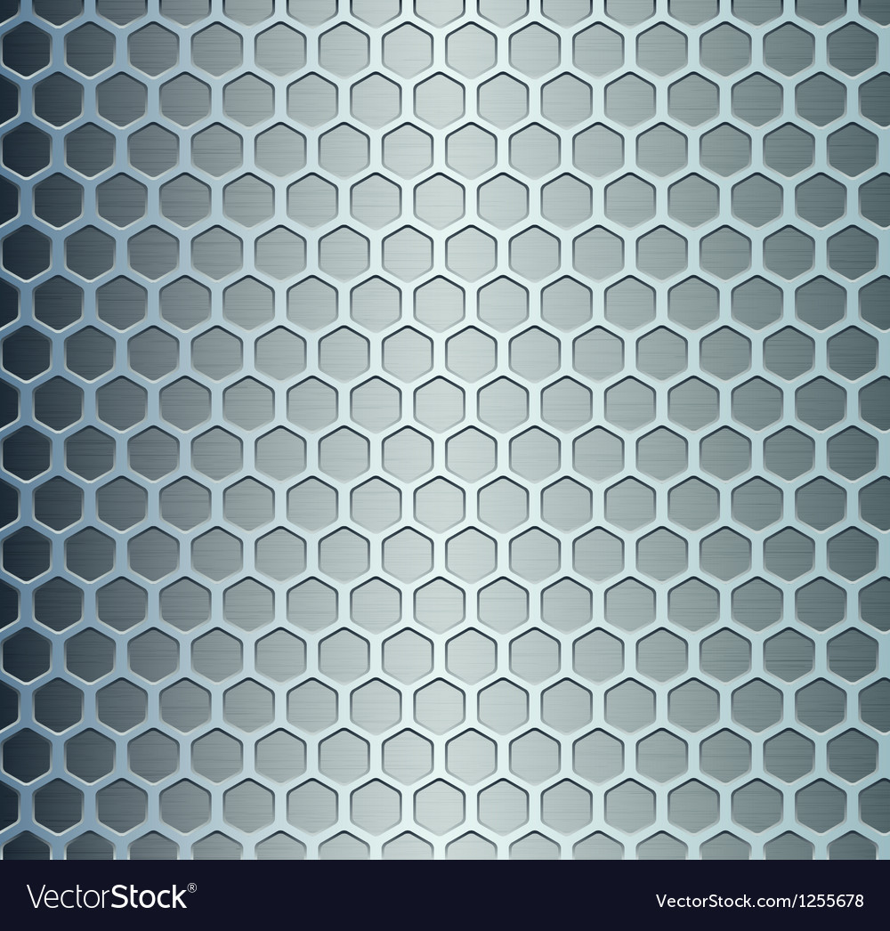 Cell metal background vector | Price: 1 Credit (USD $1)