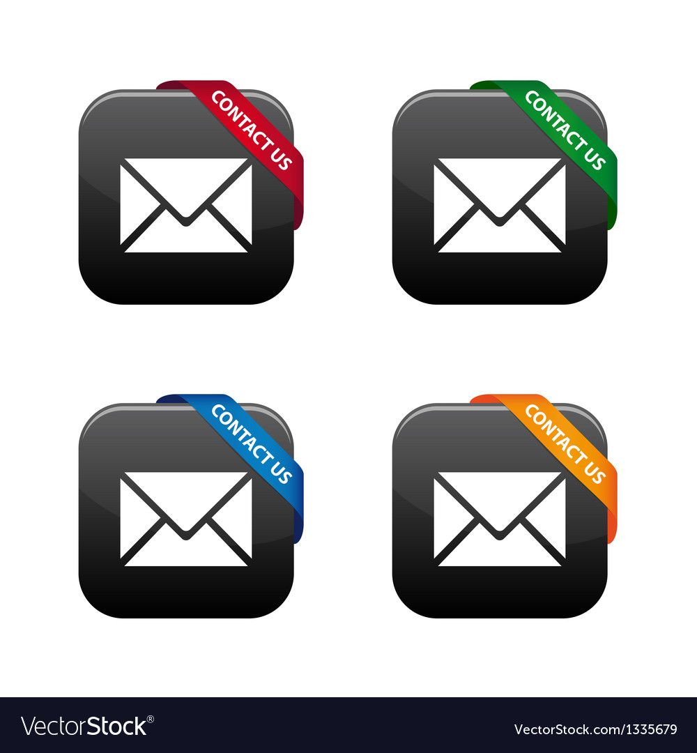 Contact us buttons vector | Price: 1 Credit (USD $1)