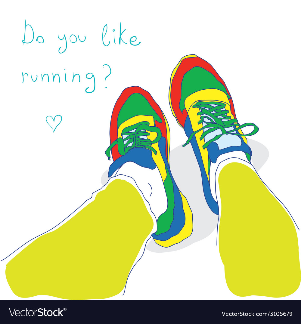 Do you like running vector | Price: 1 Credit (USD $1)