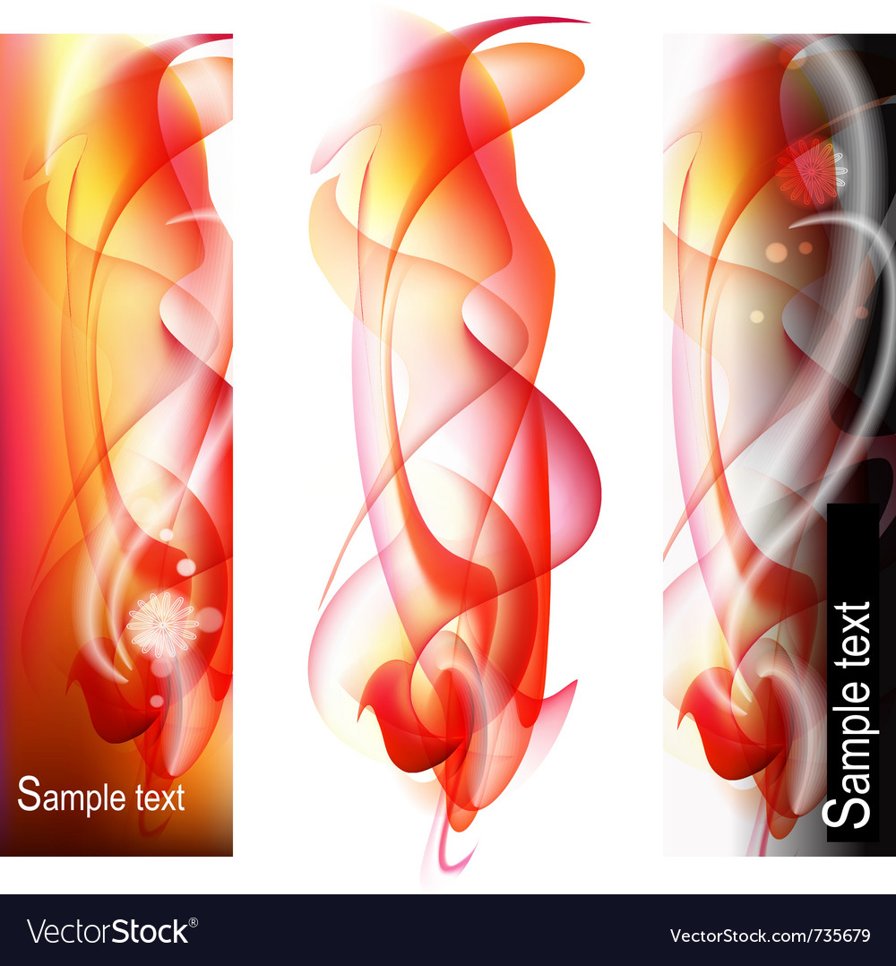 Vertical abstract banners vector | Price: 1 Credit (USD $1)