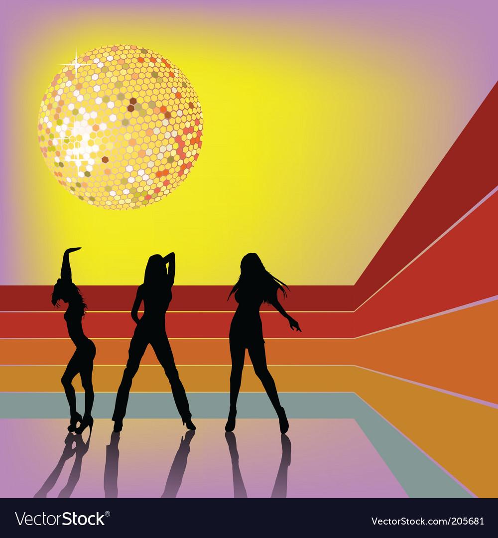 Disco dancing vector   Price: 1 Credit (USD $1)