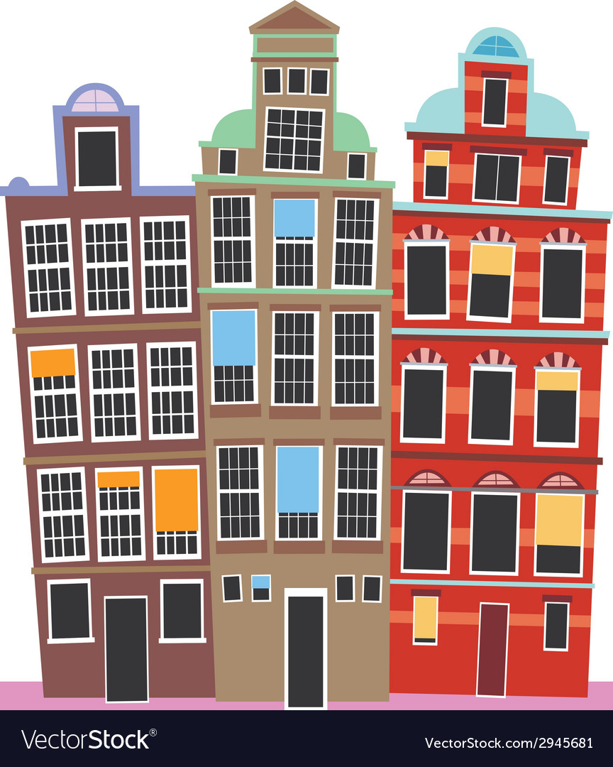 Oland house vector | Price: 1 Credit (USD $1)