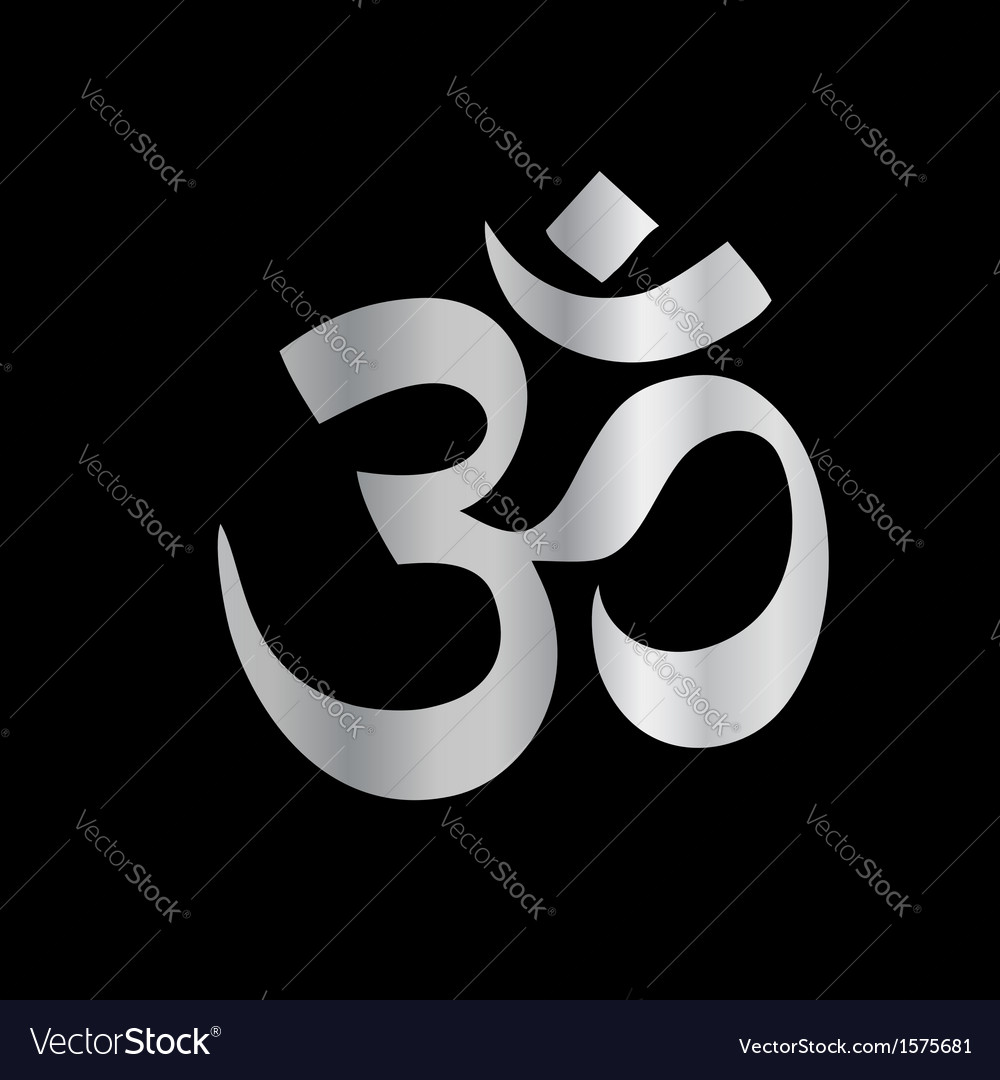 Religious symbol of hinduism- pranava vector | Price: 1 Credit (USD $1)