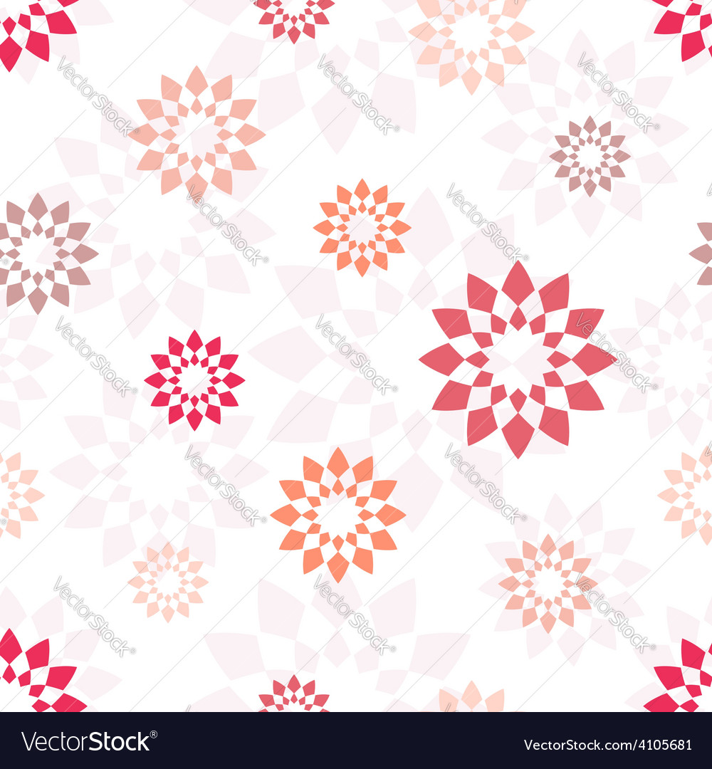 Seamless pattern with different geometric elements vector | Price: 1 Credit (USD $1)