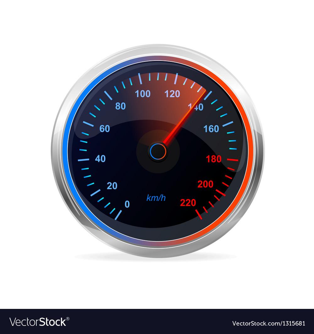 Speedometer vector | Price: 3 Credit (USD $3)