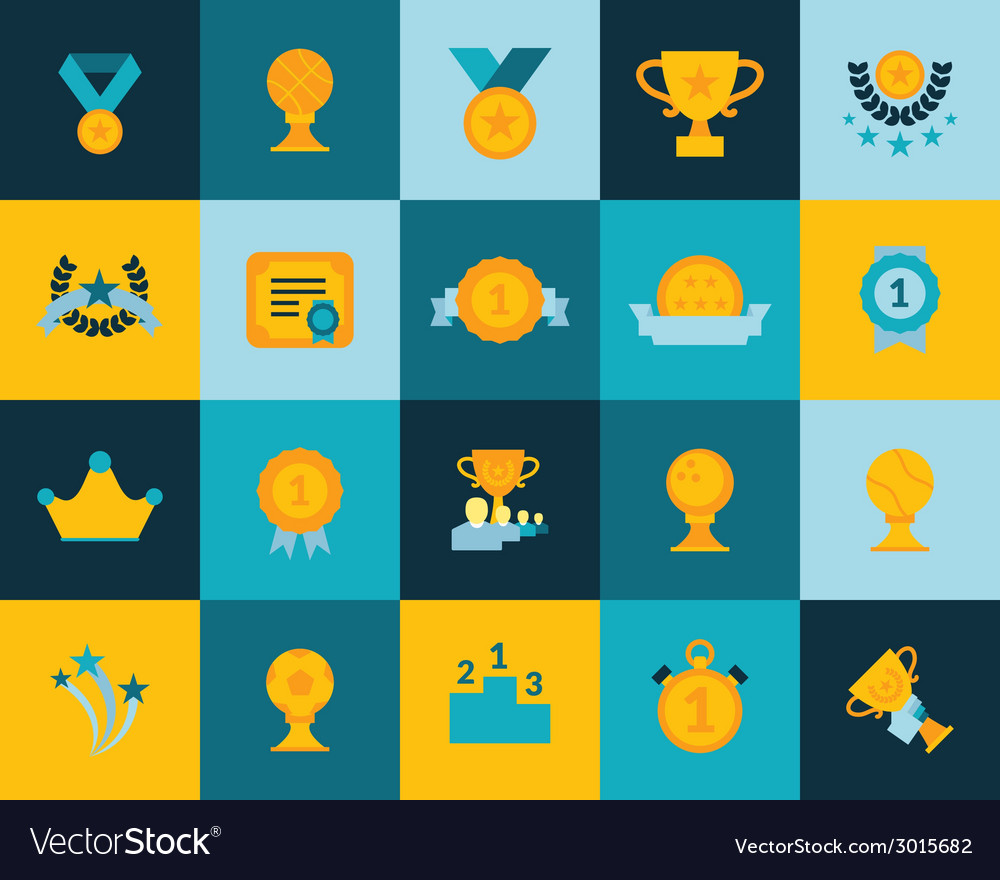 Flat icons set 29 vector | Price: 1 Credit (USD $1)