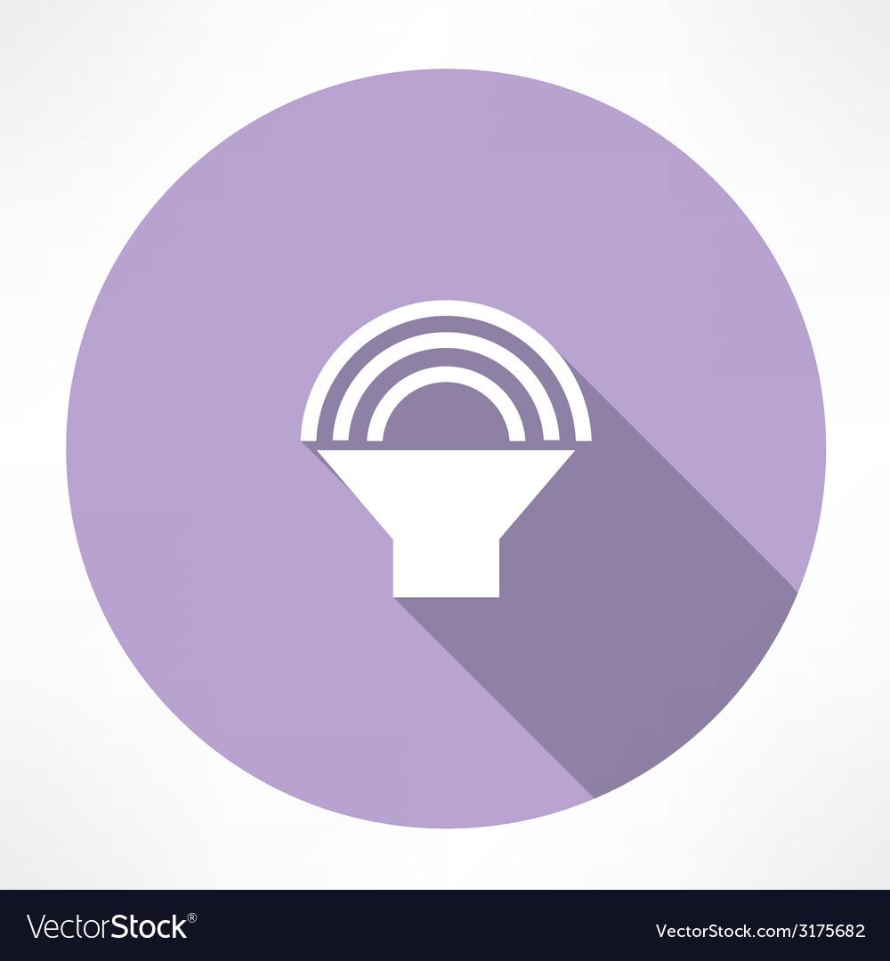 Speaker volume icon vector | Price: 1 Credit (USD $1)