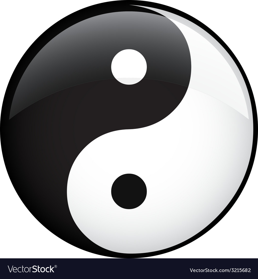 Ying yang vector | Price: 1 Credit (USD $1)