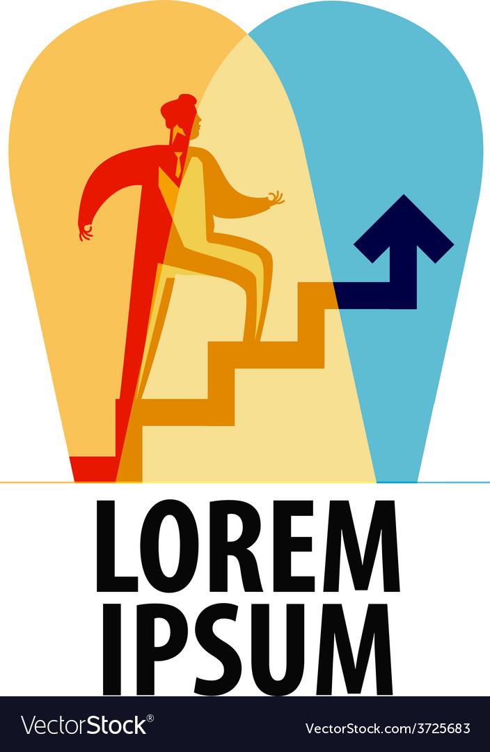 Business logo design template success or vector   Price: 1 Credit (USD $1)