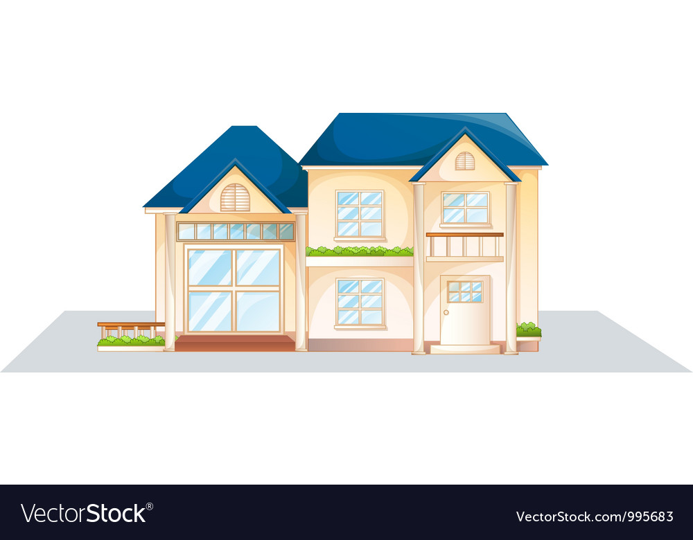 Domestic house vector | Price: 1 Credit (USD $1)