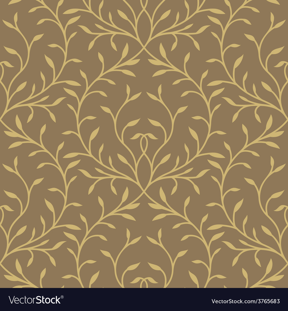 Seamless wallpaper pattern vector | Price: 1 Credit (USD $1)