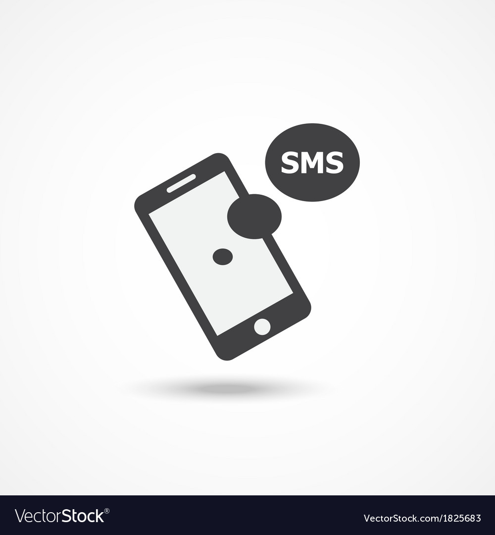 Sms icon vector | Price: 1 Credit (USD $1)
