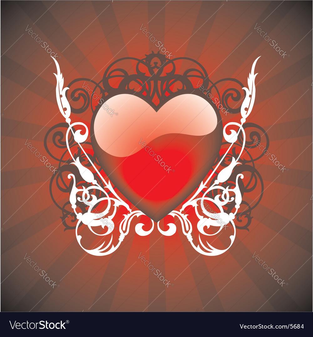 Valentine day illustration vector | Price: 1 Credit (USD $1)