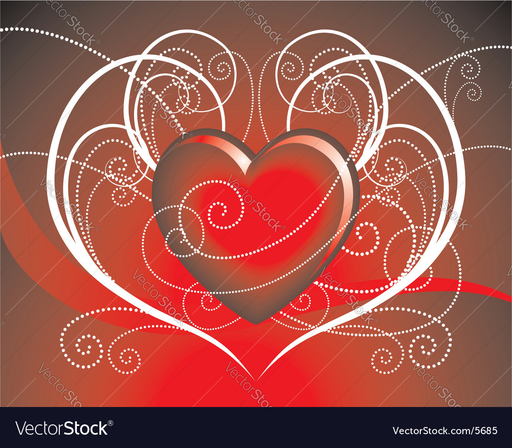 Hearth illustration vector | Price: 1 Credit (USD $1)