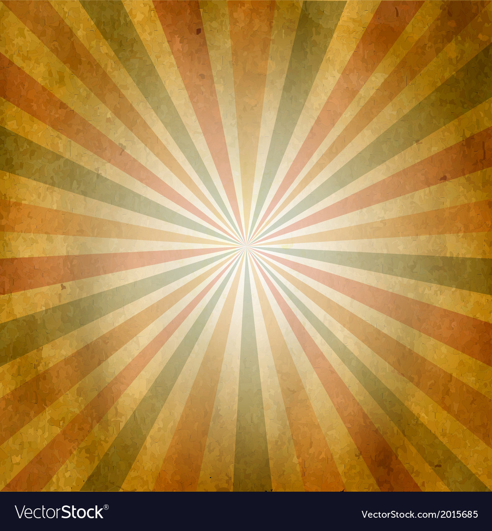Vintage square shaped sunburst vector | Price: 1 Credit (USD $1)