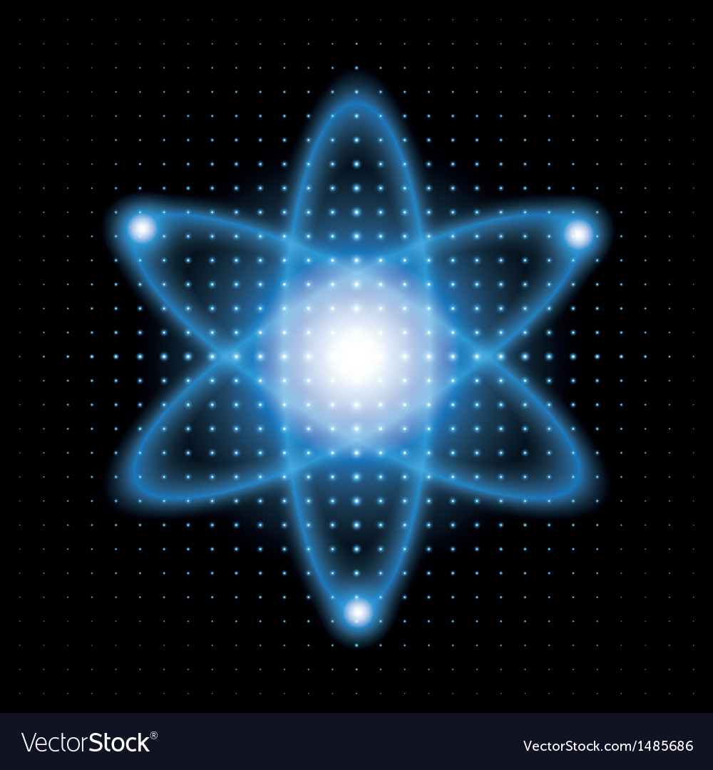 Background atomic model vector | Price: 1 Credit (USD $1)