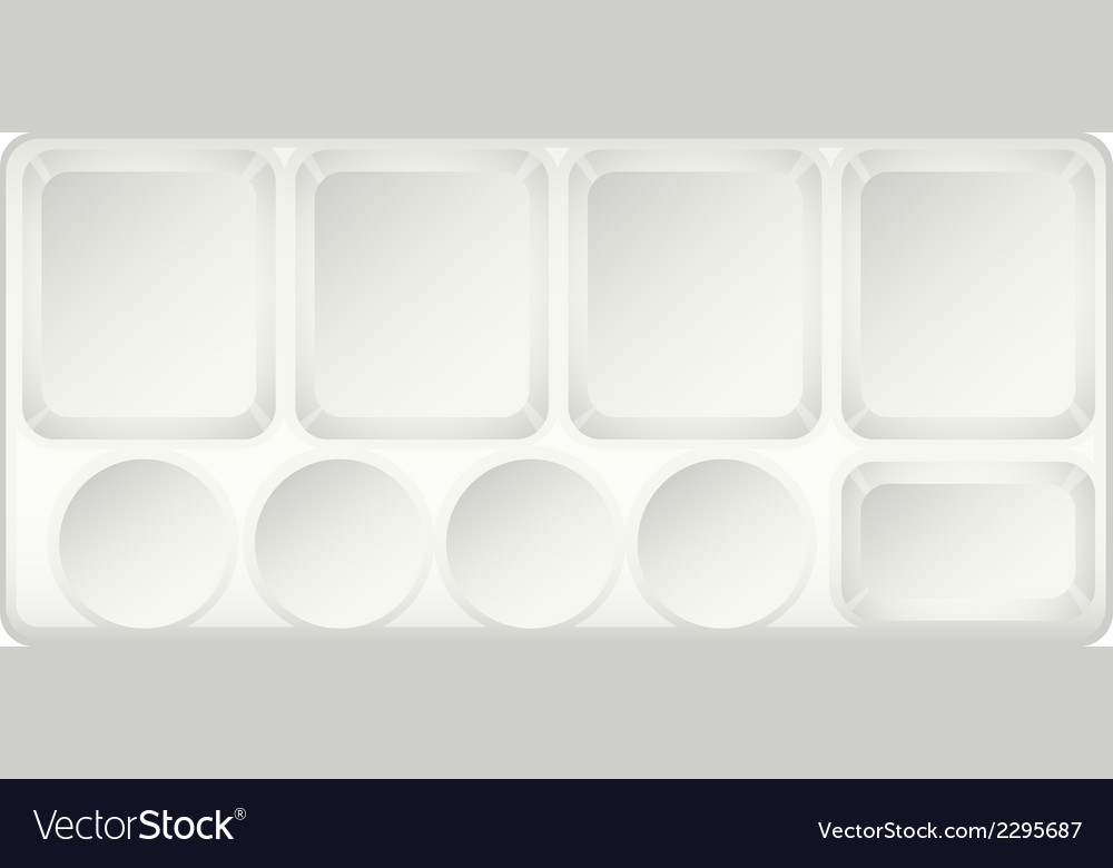 A topview of a container vector   Price: 1 Credit (USD $1)