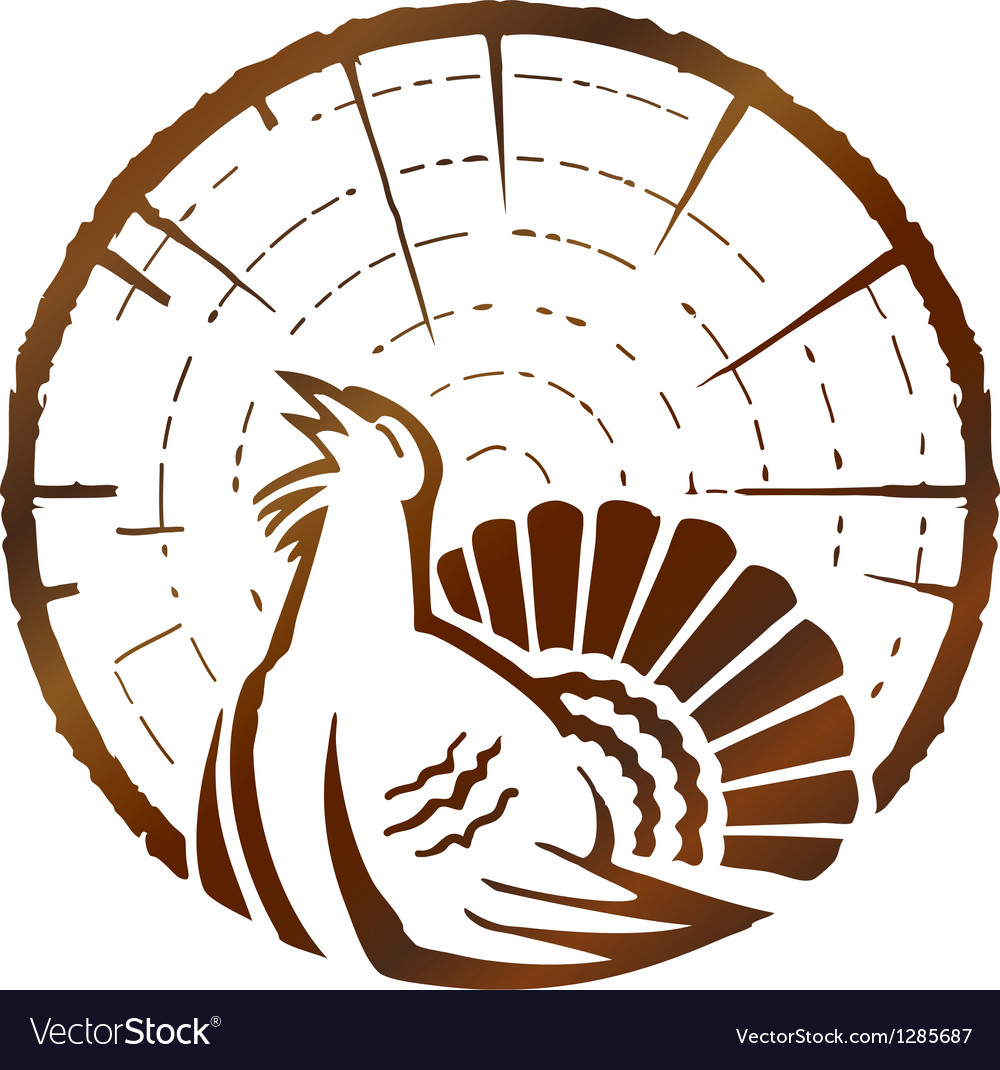 Wood grouse vector | Price: 1 Credit (USD $1)