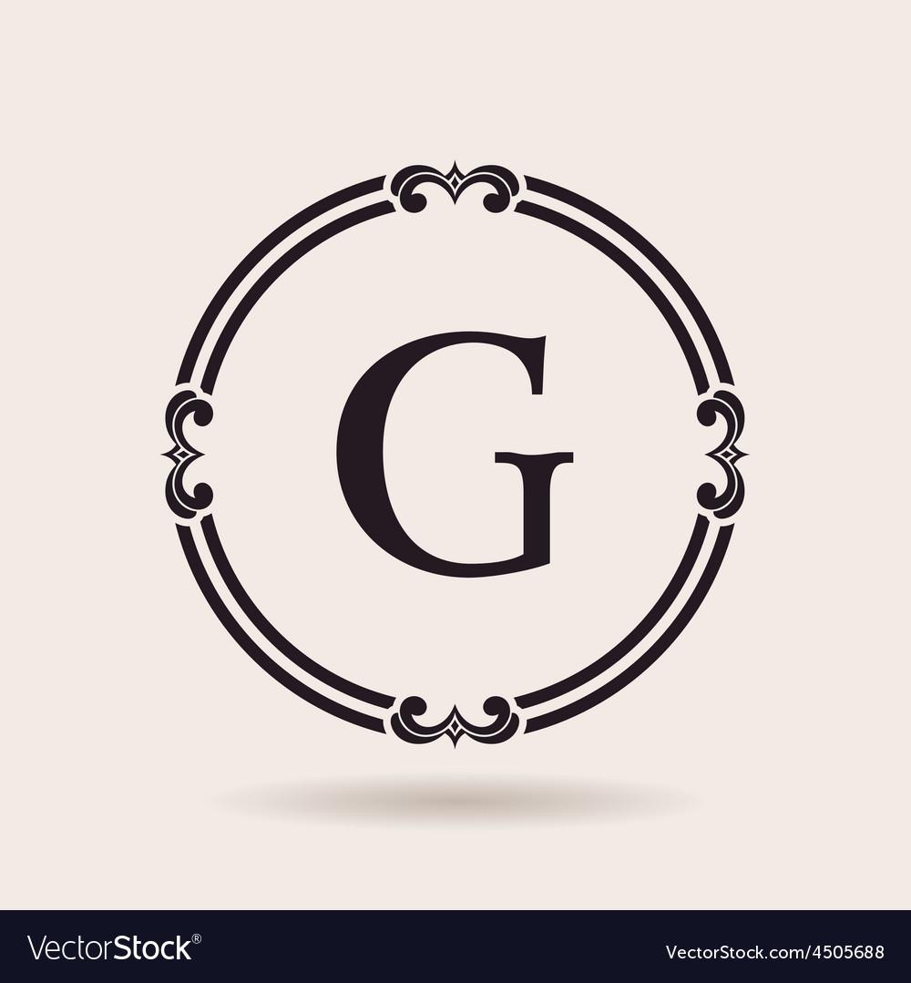Frames design emblems vintage labels and badges vector   Price: 1 Credit (USD $1)