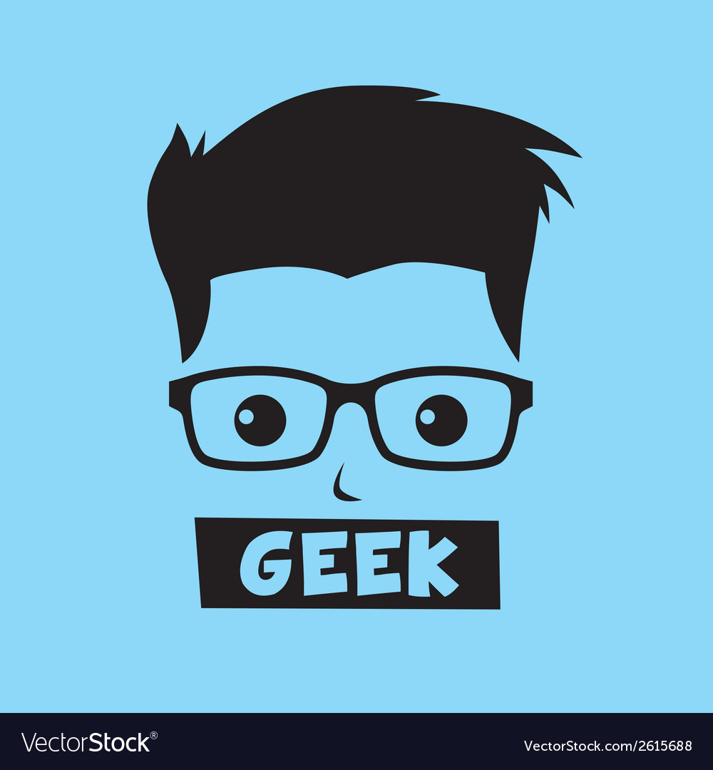 Geek vector | Price: 1 Credit (USD $1)