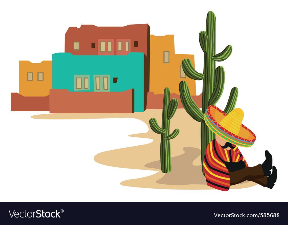 Mexican style vector | Price: 1 Credit (USD $1)
