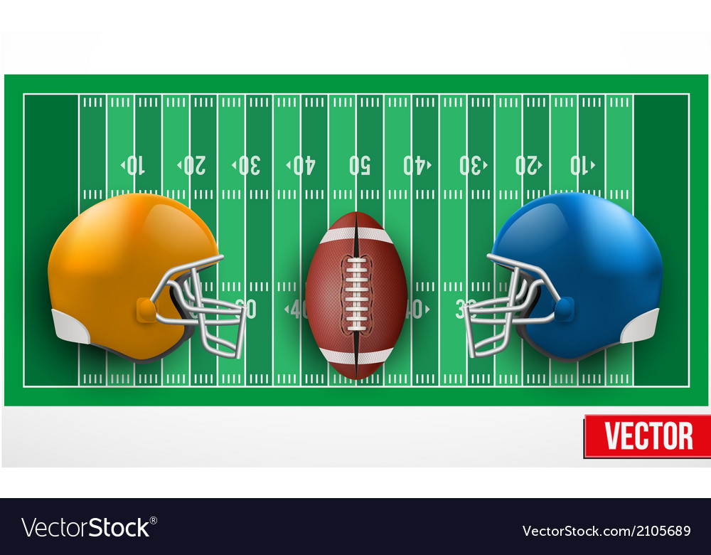 Background of competition in american football vector | Price: 1 Credit (USD $1)