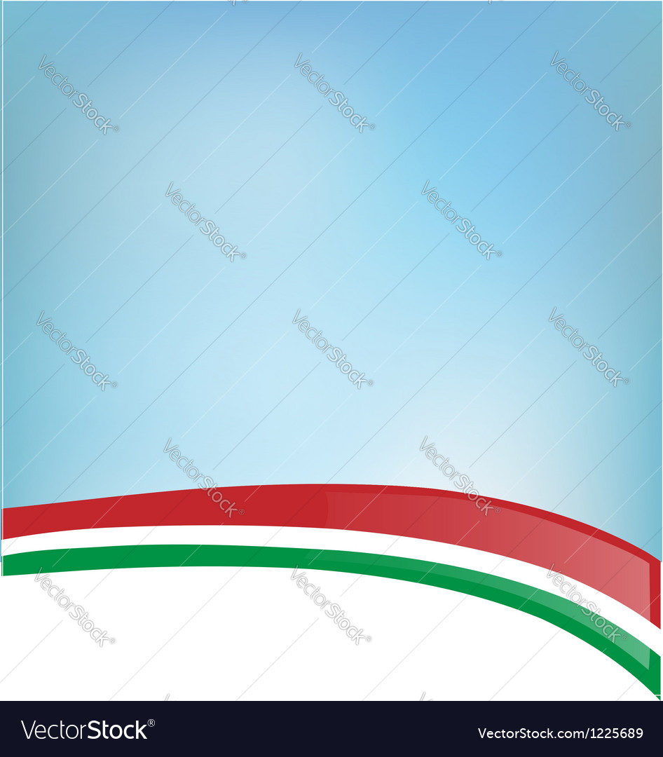 Background with italian flag vector | Price: 1 Credit (USD $1)