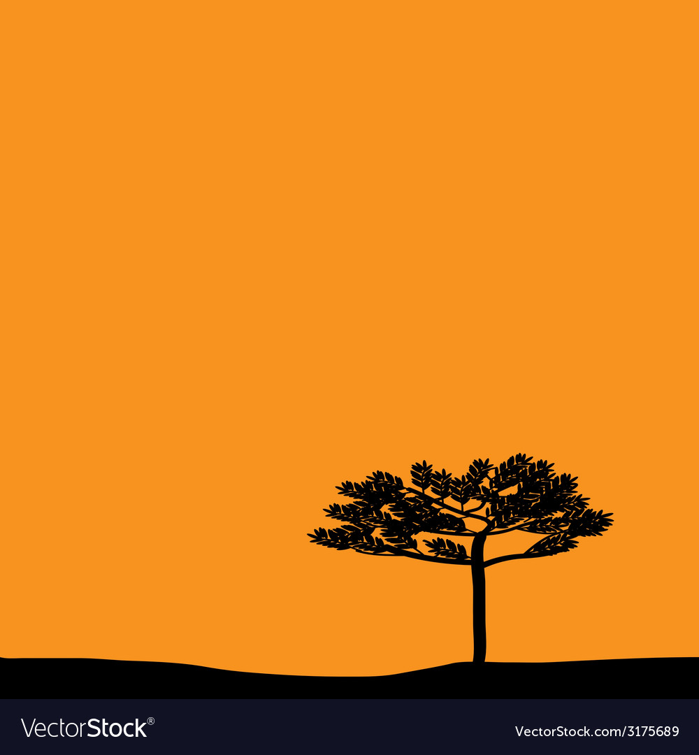 Savanna vector | Price: 1 Credit (USD $1)