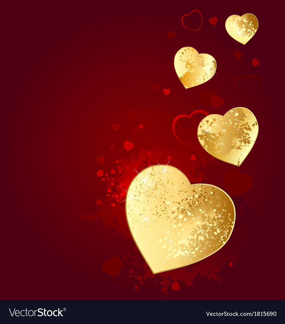 Foil heart vector | Price: 1 Credit (USD $1)