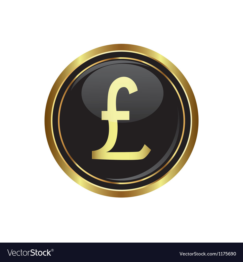 Pound icon vector | Price: 1 Credit (USD $1)