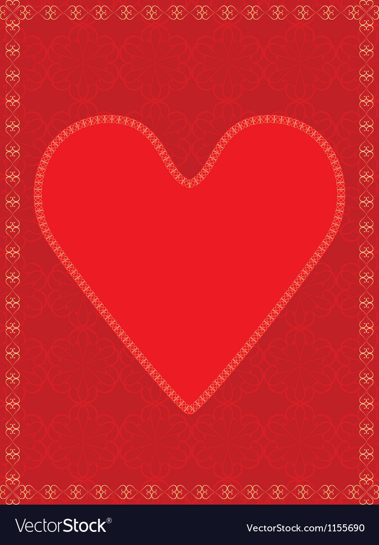 Red valentine vector | Price: 1 Credit (USD $1)