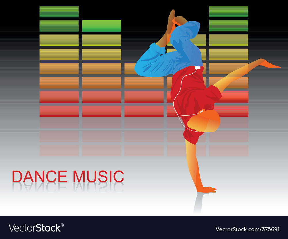Lets dance vector | Price: 1 Credit (USD $1)