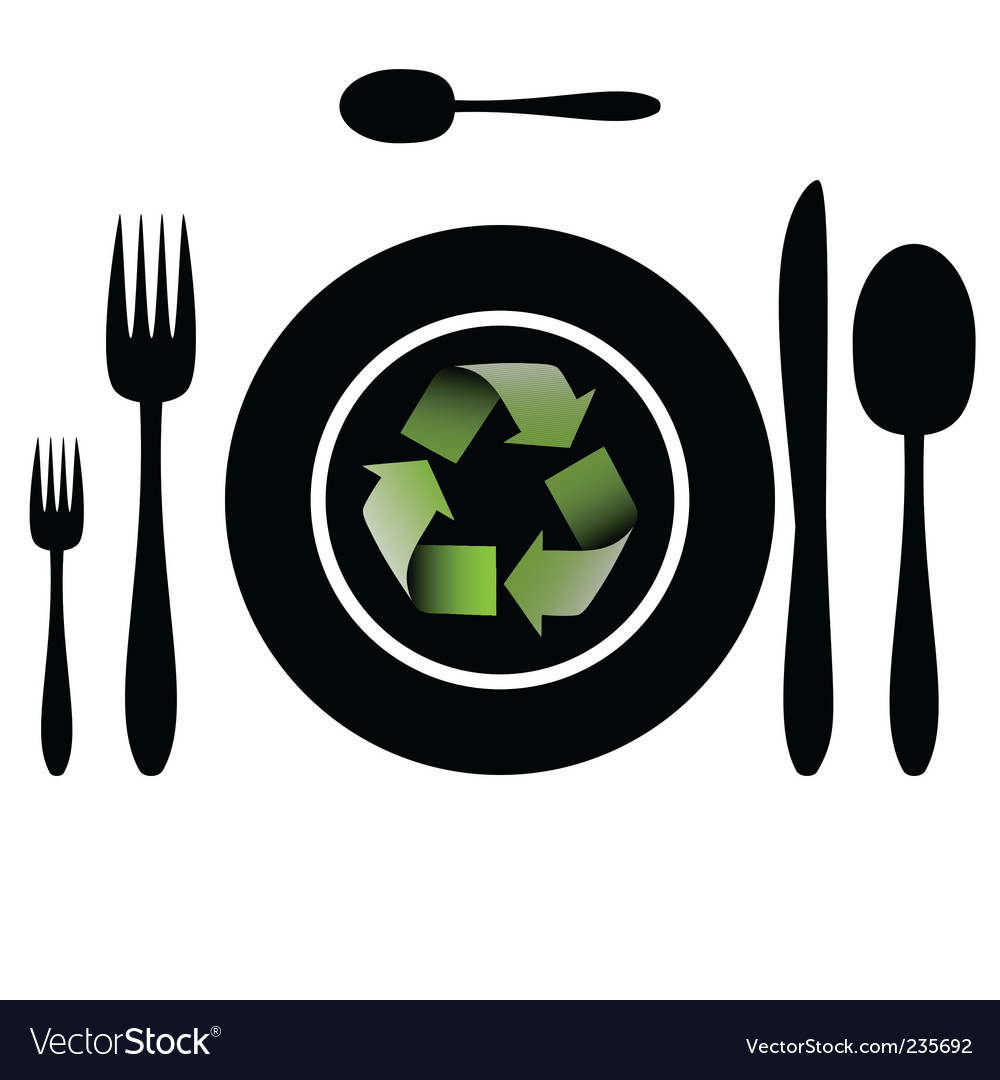 Bio food recycle vector | Price: 1 Credit (USD $1)