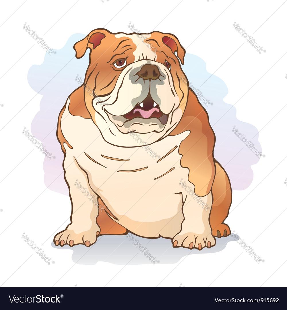 English bulldog vector | Price: 1 Credit (USD $1)