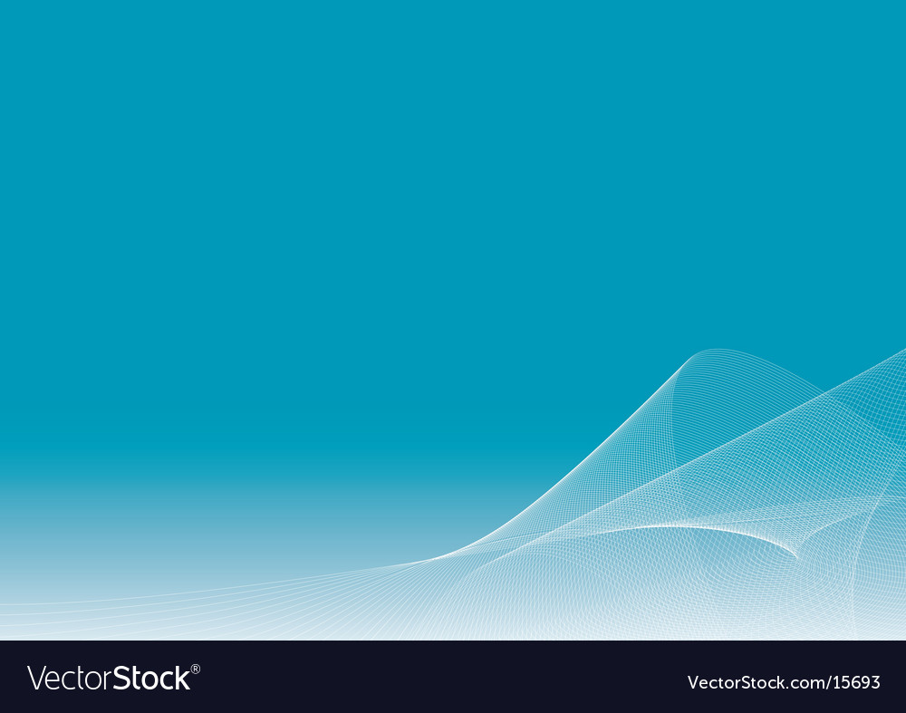 Blue background with flowing lines vector | Price: 1 Credit (USD $1)