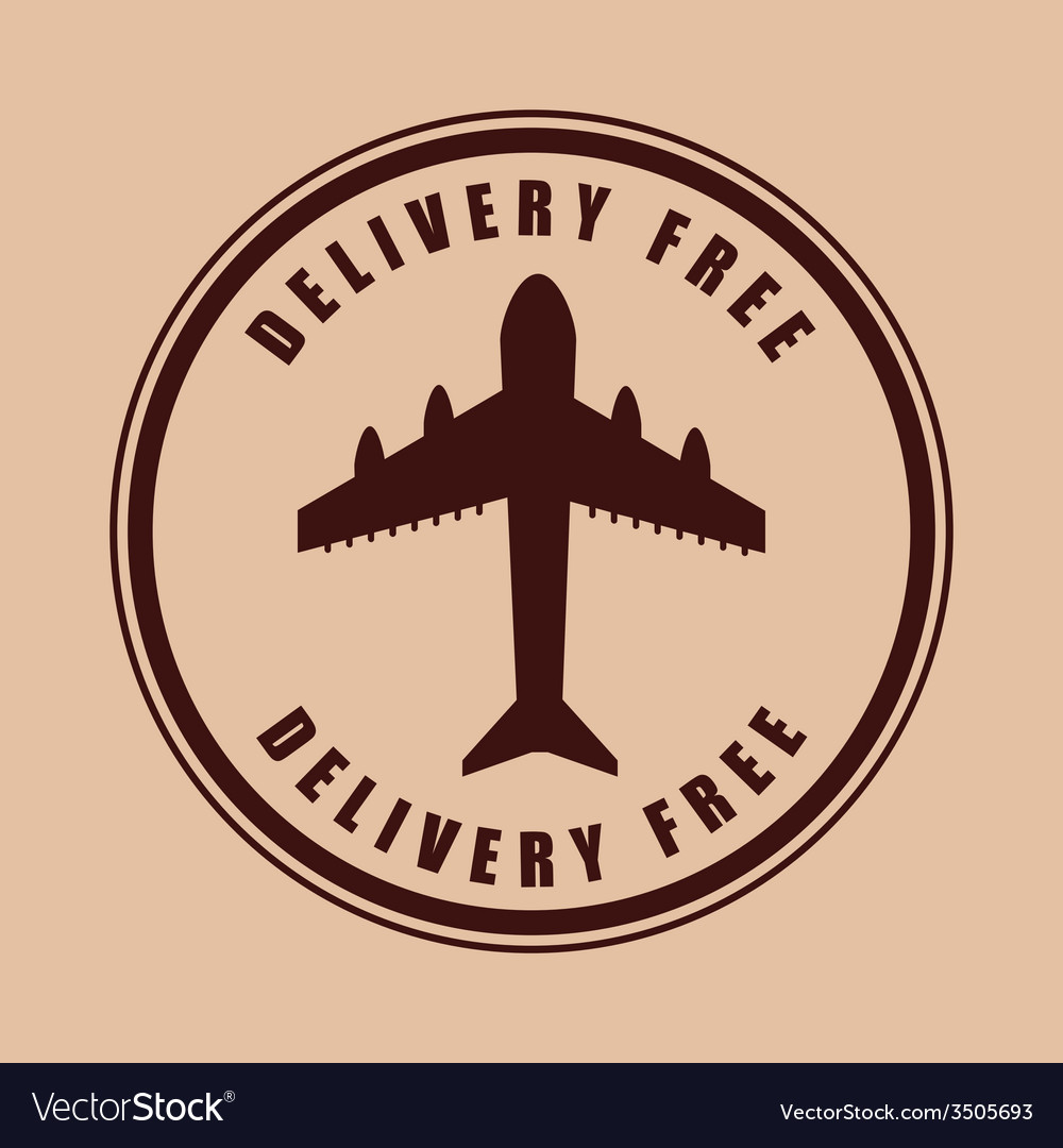 Free delivery design vector | Price: 1 Credit (USD $1)