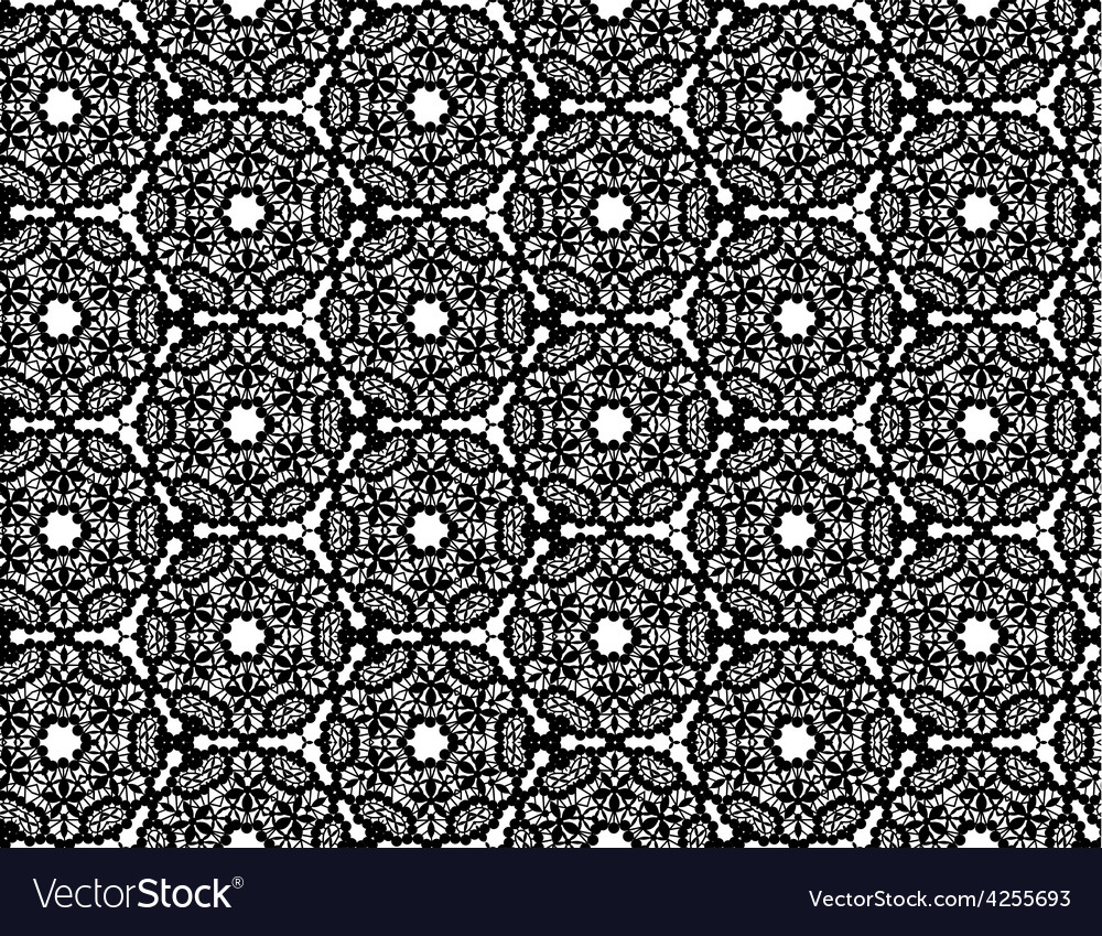 Lace pattern vector | Price: 1 Credit (USD $1)