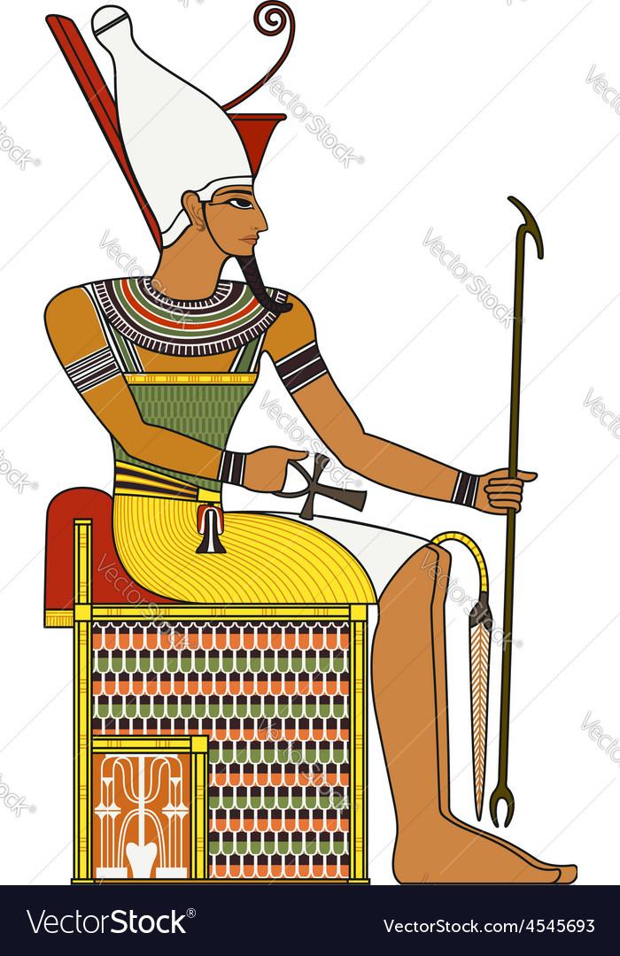 Pharaoh vector | Price: 1 Credit (USD $1)