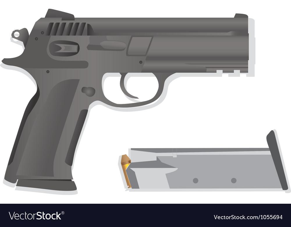 Handgun collection vector | Price: 1 Credit (USD $1)