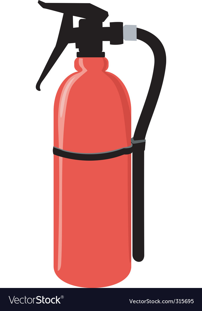 Extinguisher vector | Price: 1 Credit (USD $1)