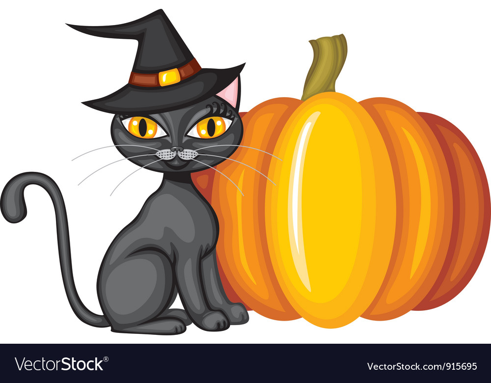 Halloween kitty vector | Price: 1 Credit (USD $1)