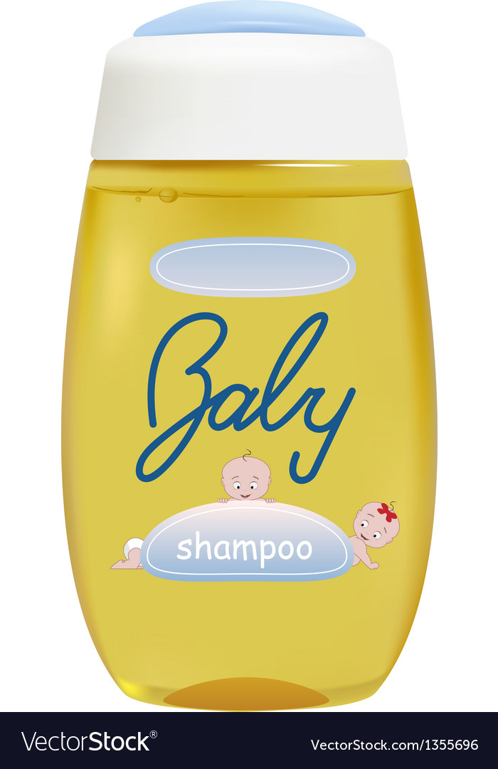 Baby shampoo vector | Price: 1 Credit (USD $1)