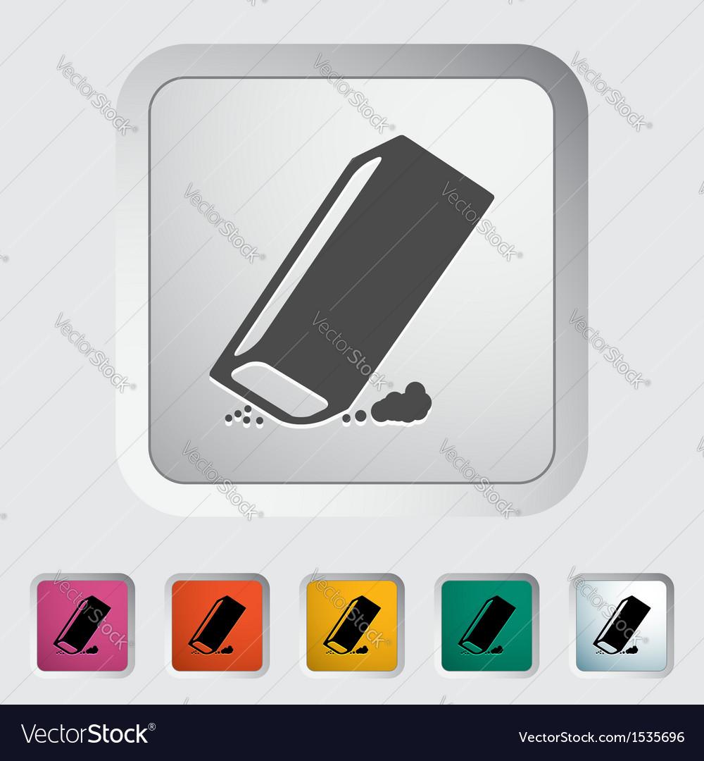 Eraser vector | Price: 1 Credit (USD $1)