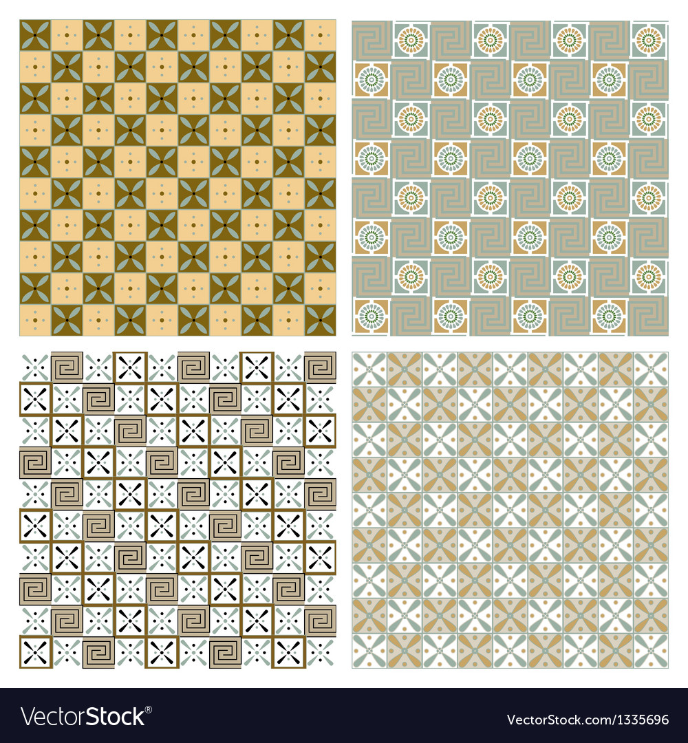 Set of old egiptian ornament vector   Price: 1 Credit (USD $1)