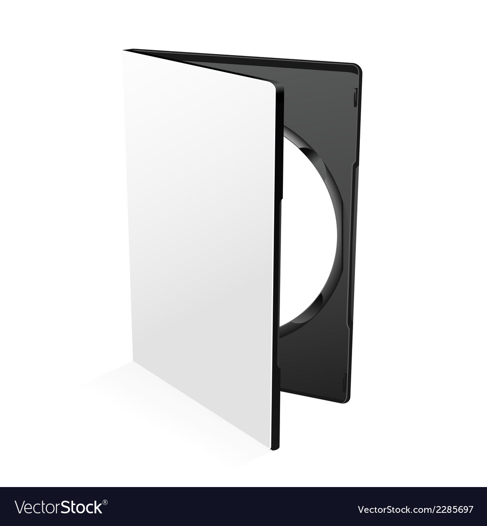 Blank dvd case vector | Price: 1 Credit (USD $1)