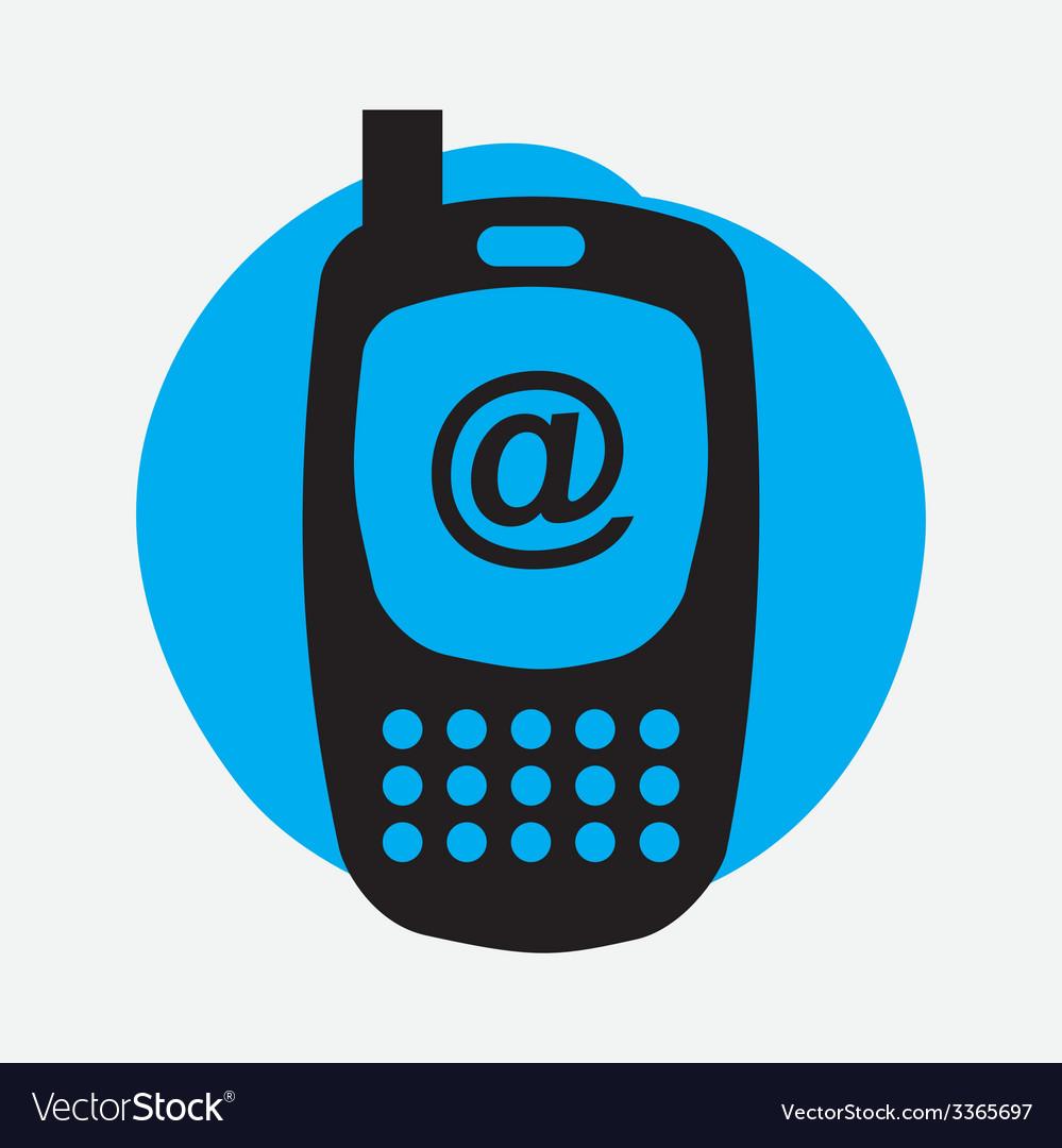 Cellphone design vector | Price: 1 Credit (USD $1)