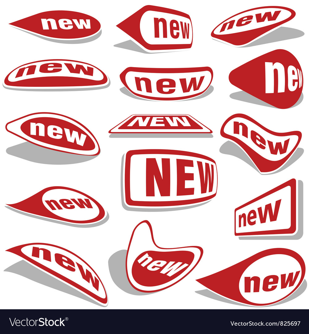 New labels vector   Price: 1 Credit (USD $1)